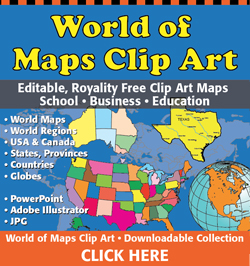 World of Maps Editable Maps, Gumroad Collection