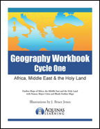 Middle East, Africa and the Holy Land Coloring book