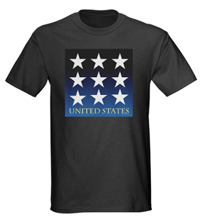 usa starts, united states, patriot, red white and blue tshirt, flag