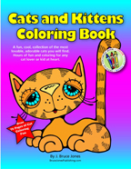 cats and kittens coloring book