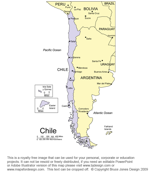 Free South American and Latin American Maps, Printable ...
