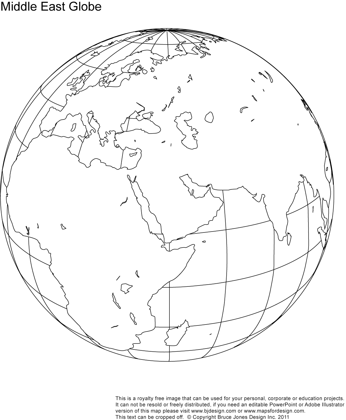 Picture of: Printable Blank World Globe Earth Maps Royalty Free Jpg