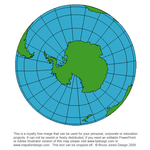 Globe South Pole, Antarticablank, printable, royalty free, clip art