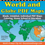 world of map pdf blank outline maps