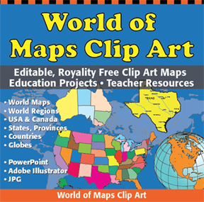 world of maps editable powerpoint and adobe illustrator ai and eps maps
