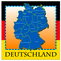 Map Of Deutschland Germany.Map Clothing Gifts And Products Free Us And World Maps